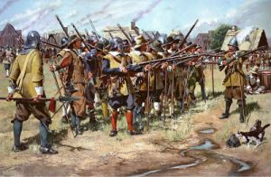 Bay Colony militia 1636